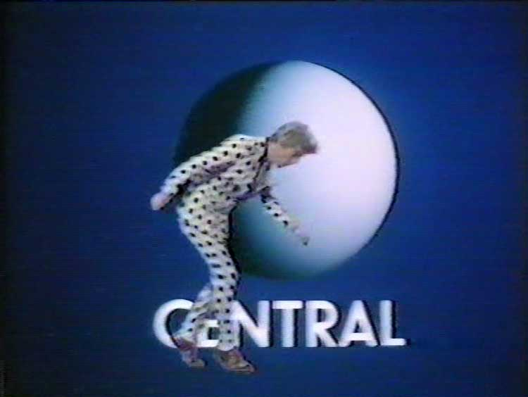 Den Hegarty headbutts the Central Independent Television ident