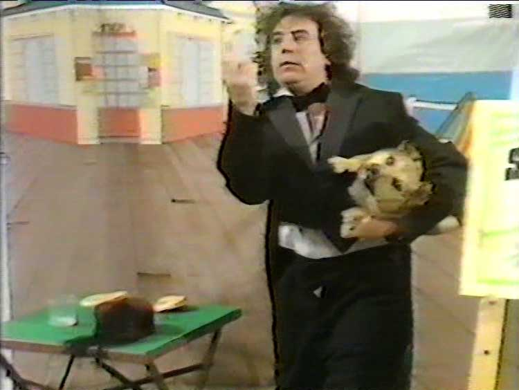 Terry Jones on Tiswas