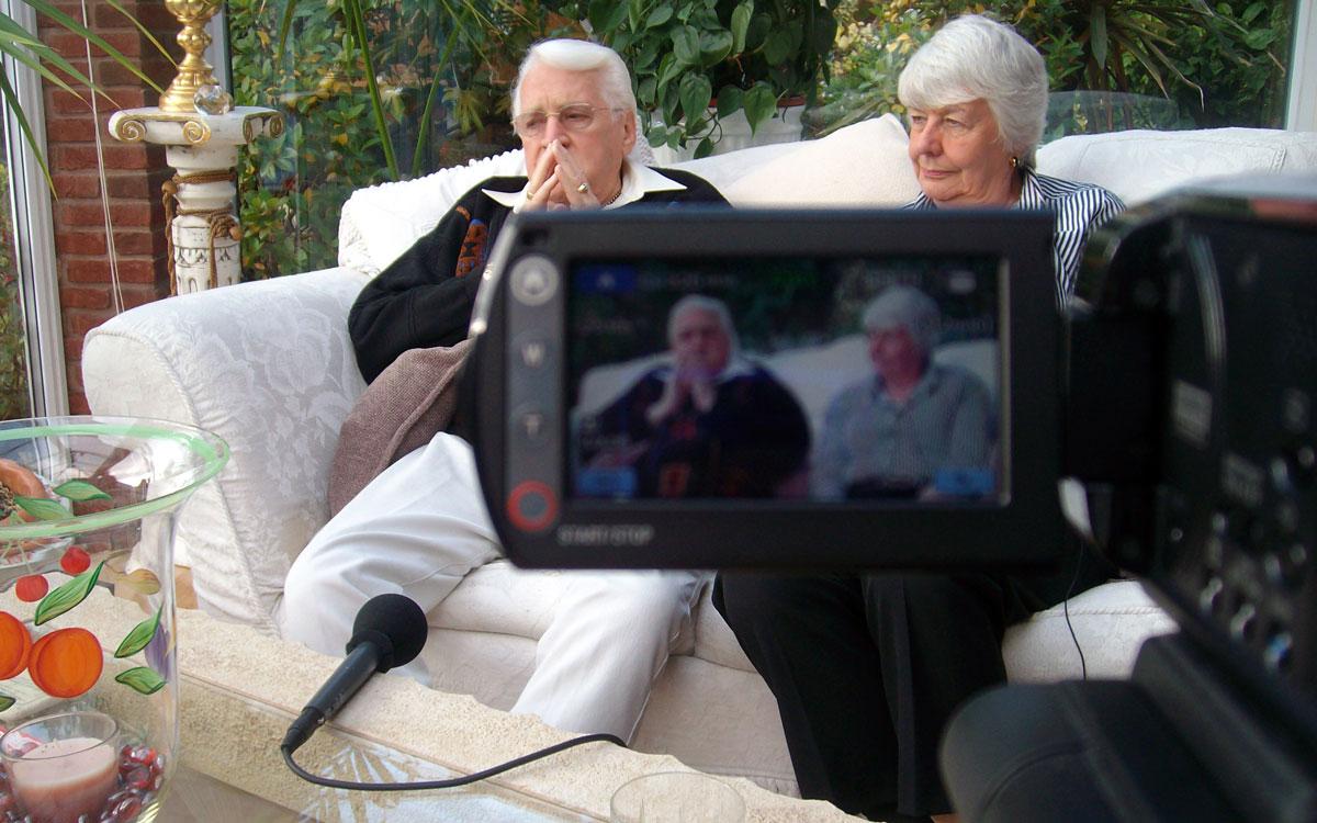 Peter Harris and Barbara Bradbury