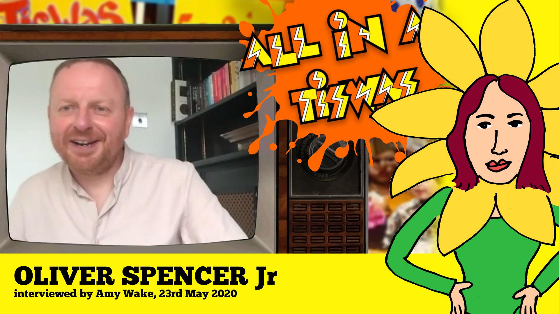 Oliver Spencer Junior interview Tiswas