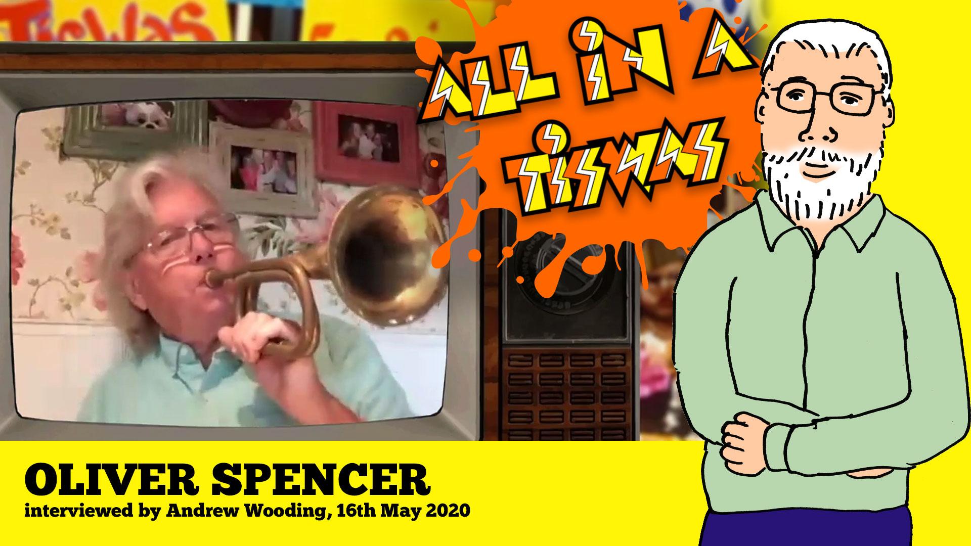 Oliver Spencer Tiswas interview