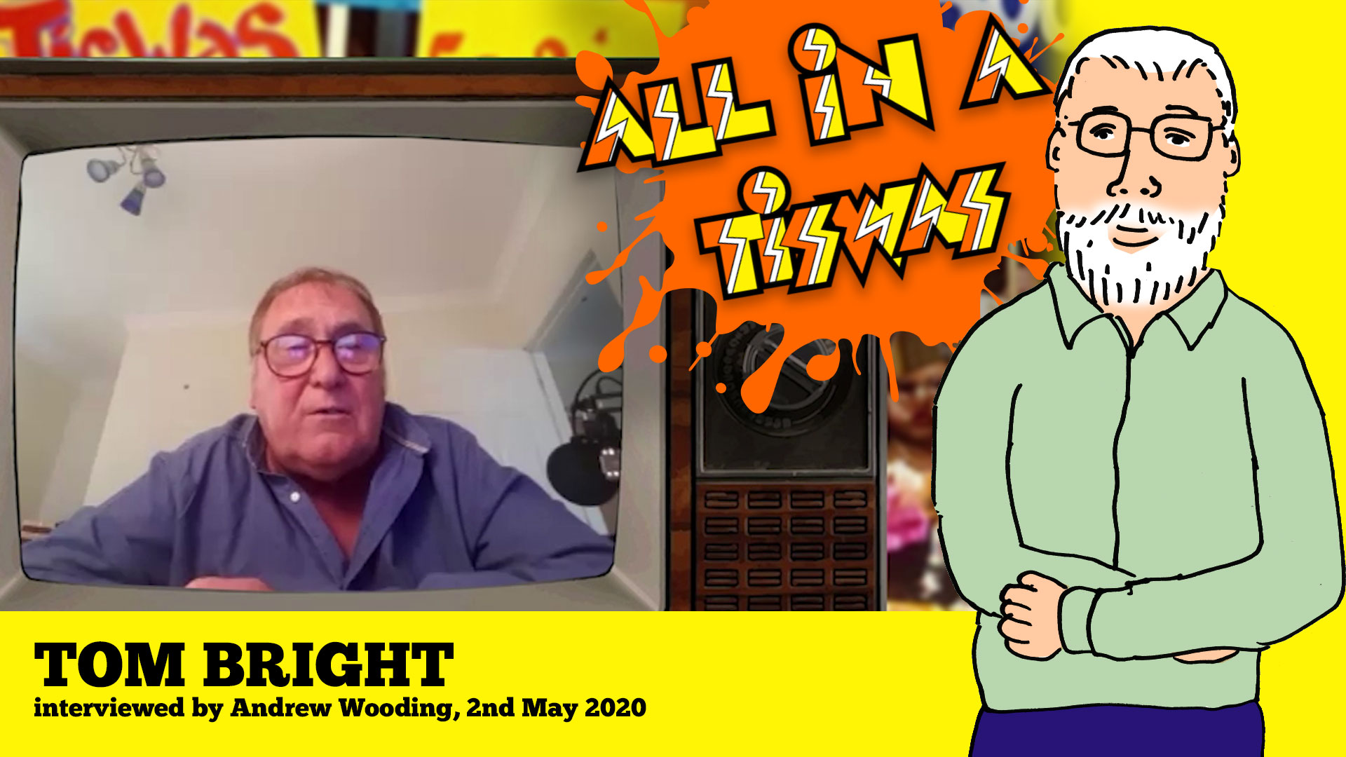 Tom Bright Tiswas interview